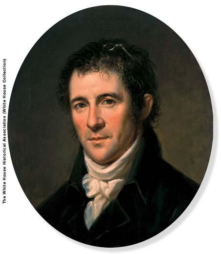 Benjamin Henry Latrobe, c. 1804, portrait by Charles Willson Peale